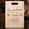 Image of Another Word For Love Cutting Board