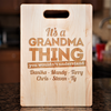 Image of It's A Grandma Thing Cutting Board
