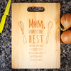 Image of Mom Love Is The Best Cutting Board