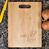 Image of Couples Cutting Board