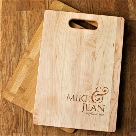 Couples Cutting Board
