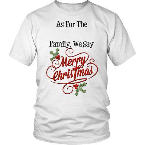 Personalized: We Say Merry Christmas