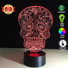 Image of Limited Offer: Sugar Skull 3D Illusion Lamp