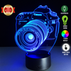 Image of Limited Offer: Camera 3D Illusion Lamp