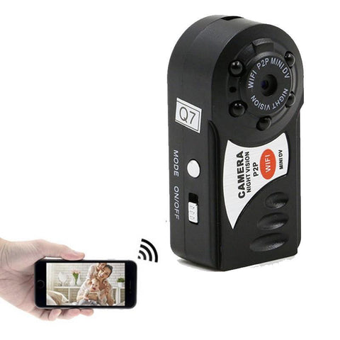 Mini WiFi Camera , Wireless Security Video Camera With Infrared Night Vision Wireless DVR