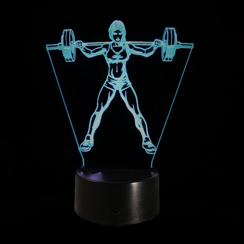Limited Offer: Fitness 3D Illusion Lamp