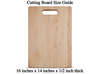 Image of Eat Drink and Be Married Cutting Board