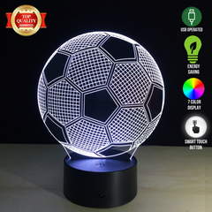 Soccer Ball 3D LED Lamp