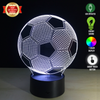 Image of Soccer Ball 3D LED Lamp