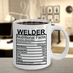Welder Nutritional Facts