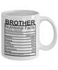 Image of Brother Nutritional Facts Mug