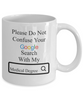 Image of Google Search Medical Degree - Personalized Mug