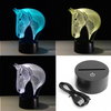 Image of Limited Offer: Horse 3D LED Lamp