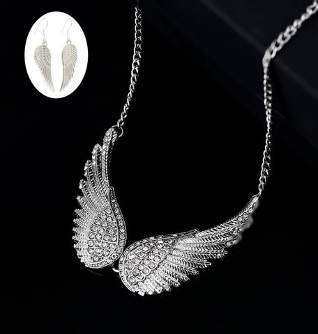 Angel Wings Jewelry Set