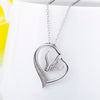 Image of 100% Sterling Silver Horse Pendant Necklace