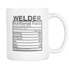 Image of Welder Nutritional Facts