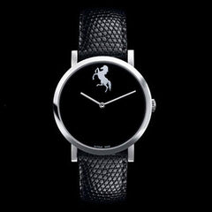 70% OFF: Ultra Sleek Luxury Men's Leather Horse Watch