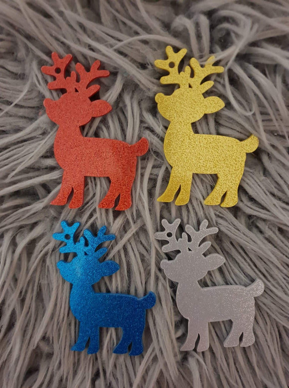 Reindeer Acrylic Christmas Tree Ornaments