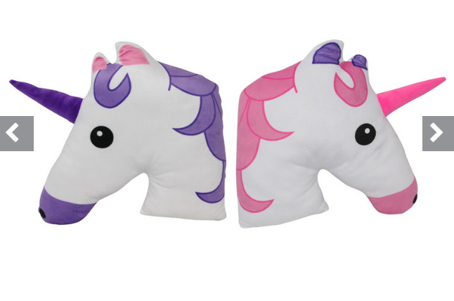 Plush Unicorn Cushion
