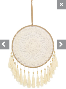 Crochet with tassle dream catcher