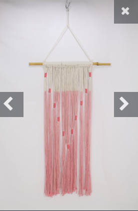 Rope/String wall hanger