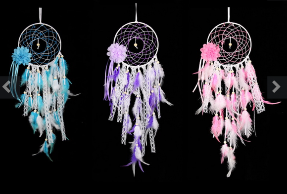 Flower design dream catcher
