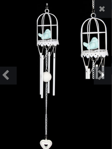Bird cage windchime