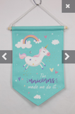Unicorn Wall Hanger