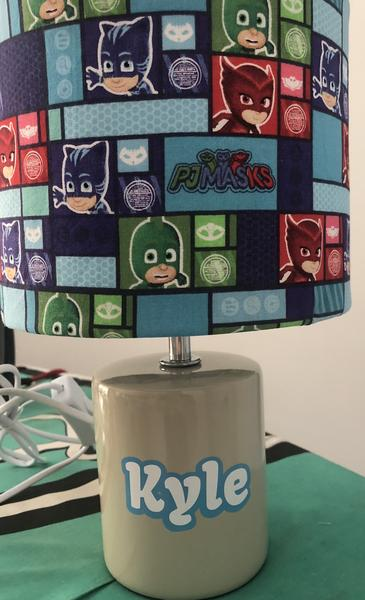 Personalised reading lamp