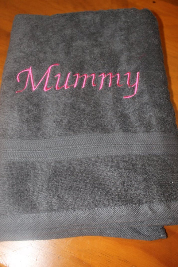 Embroidered Bath Sheet