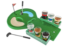 table golf shot glass drinking game