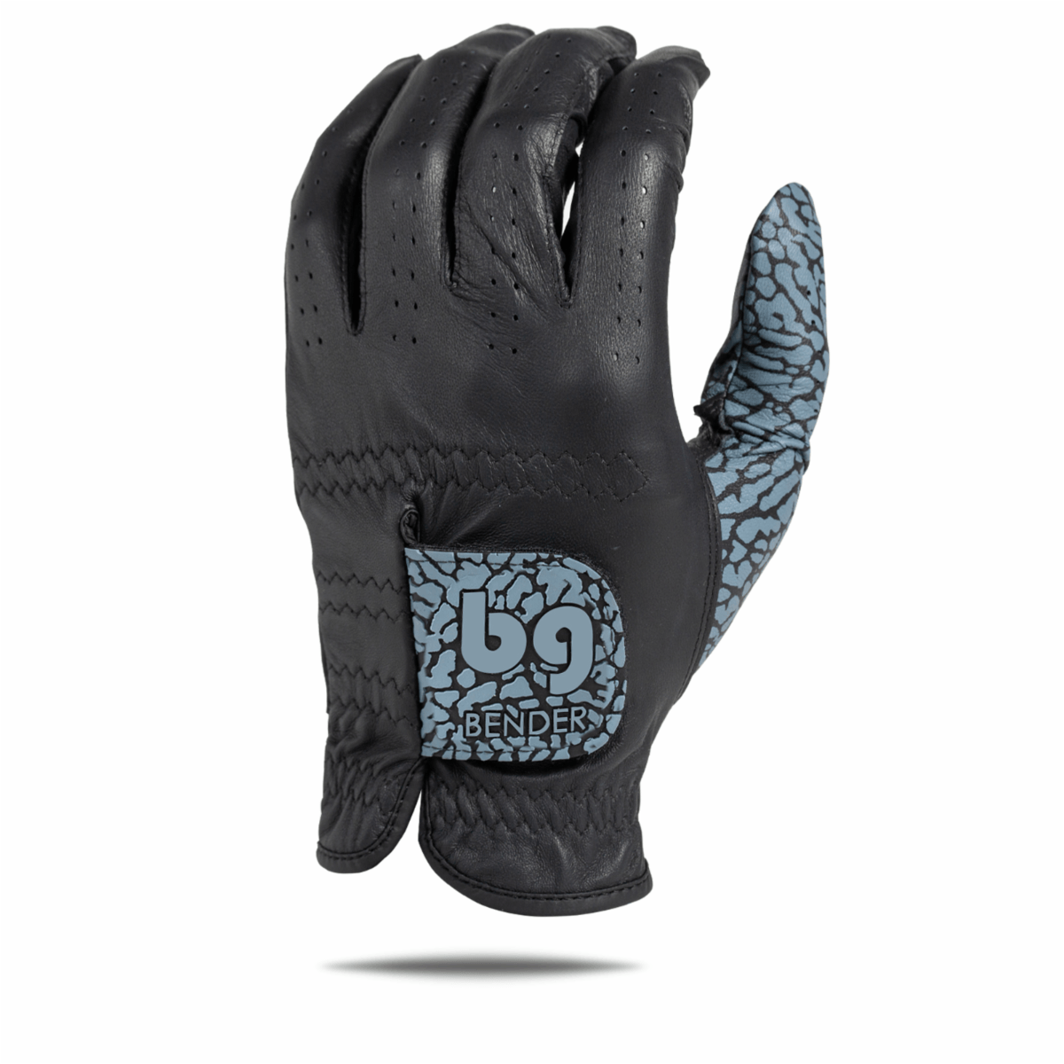 Black Icon Elite Accent Golf Glove
