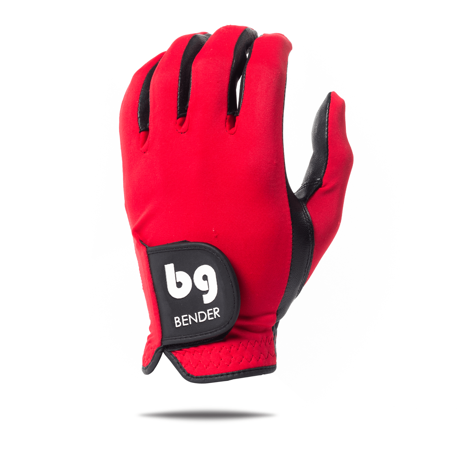 Red Spandex Golf Glove