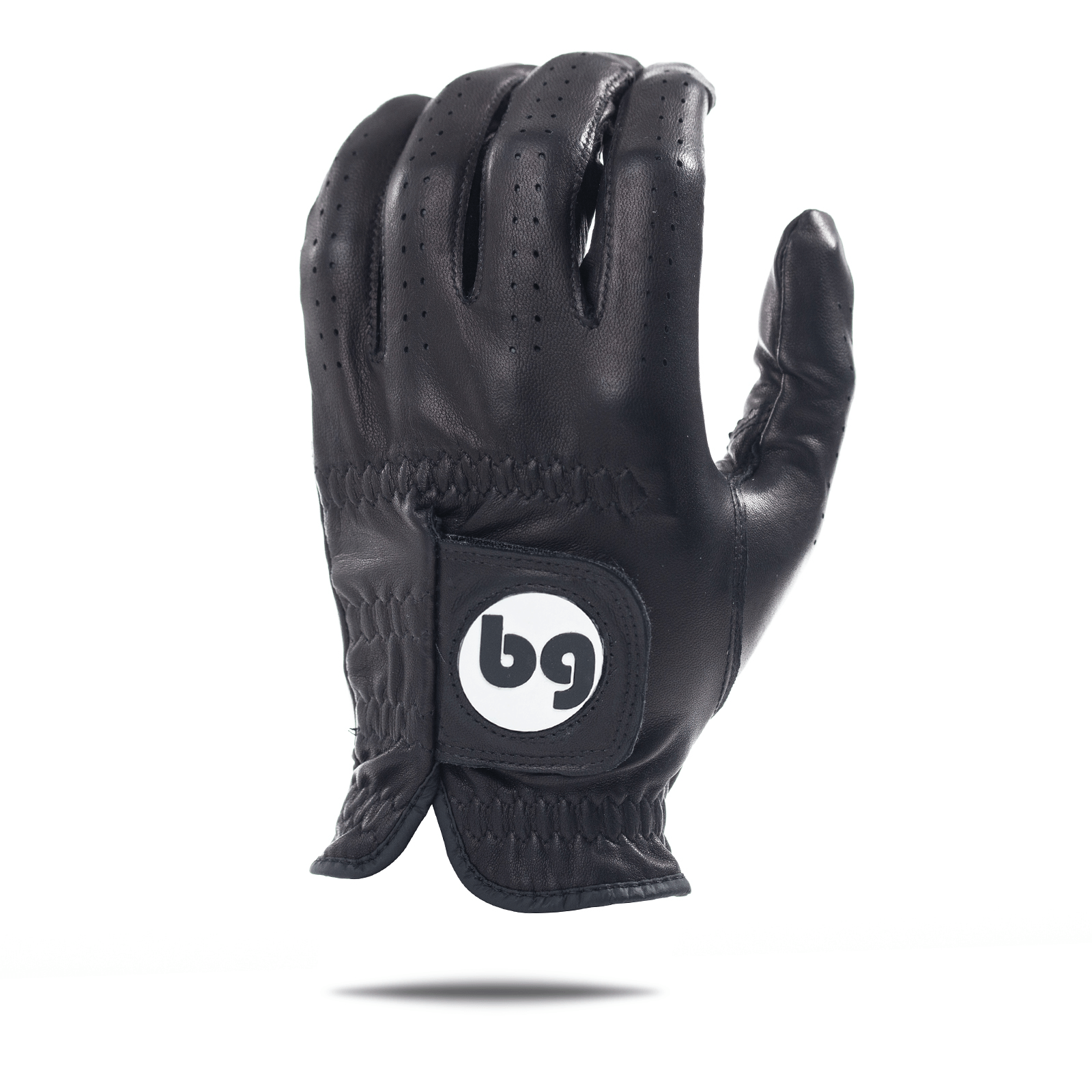 Black Elite Tour Golf Glove