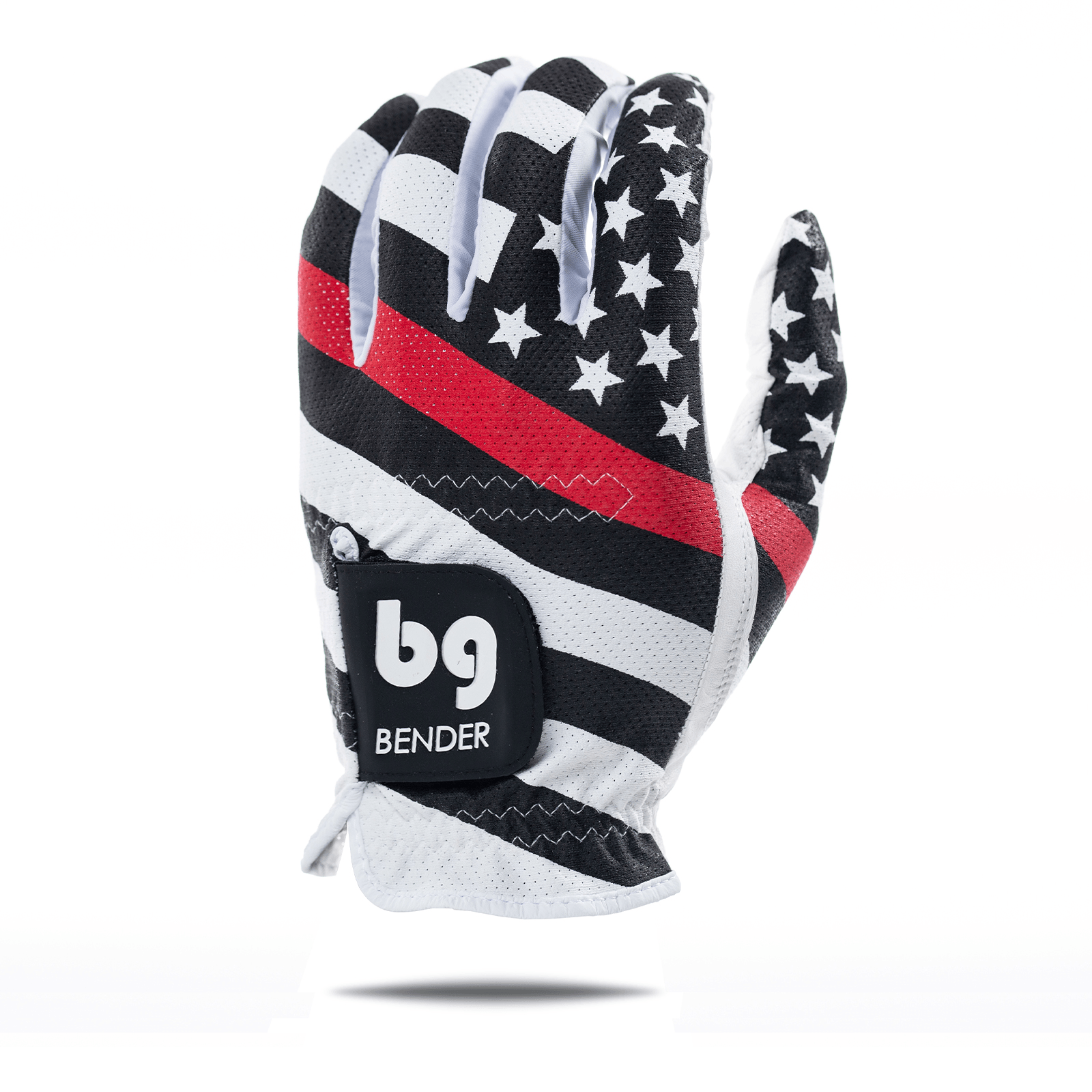 USA Red Line Mesh Golf Glove