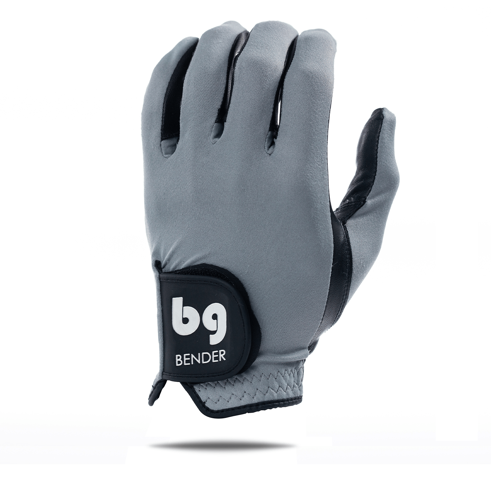 Gray Spandex Golf Glove