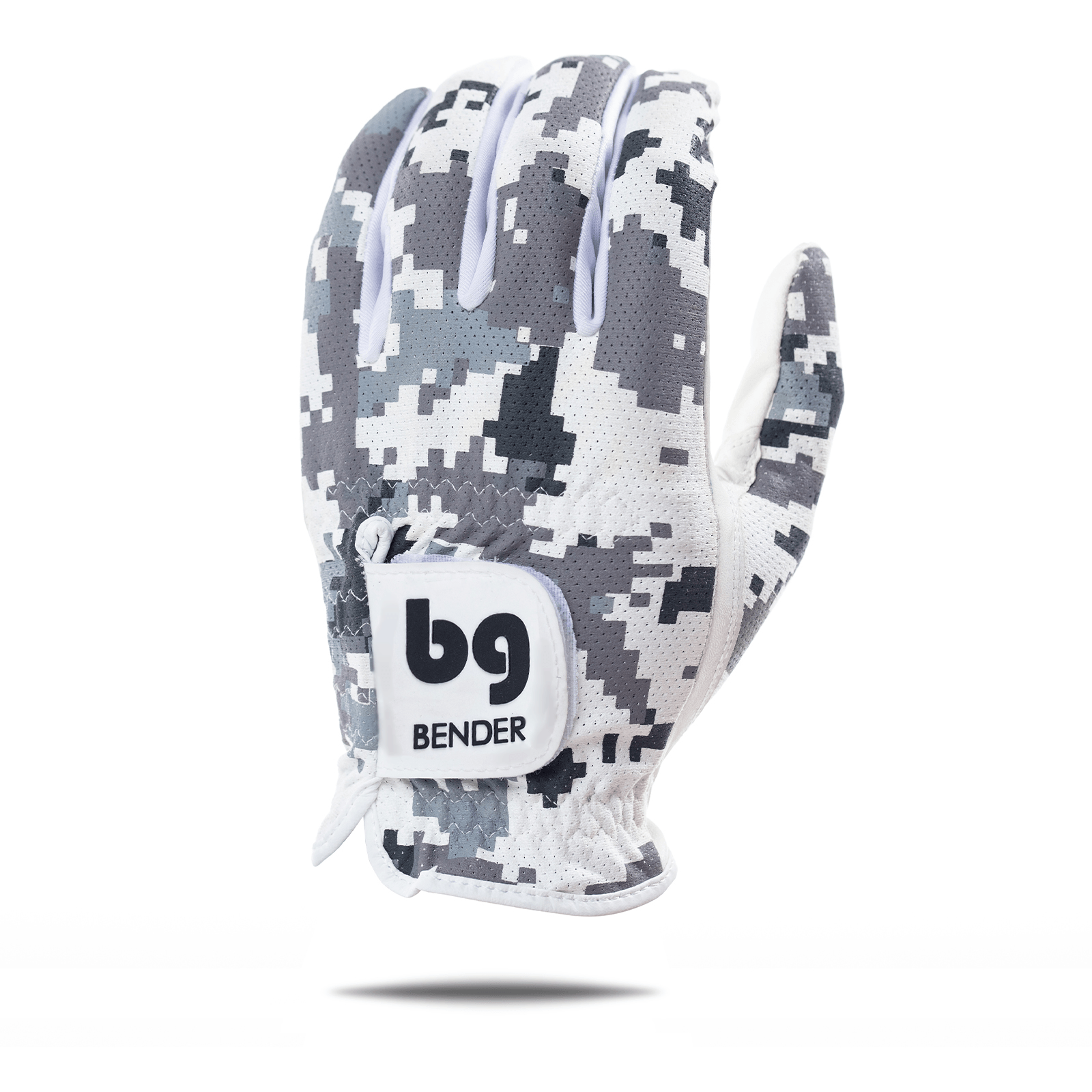 Gray Digital Camo Mesh Golf Glove
