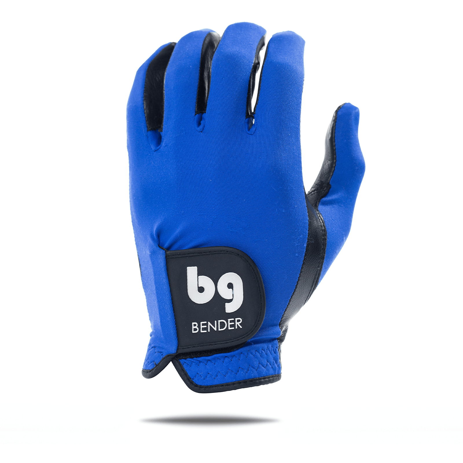 Blue Spandex Golf Glove