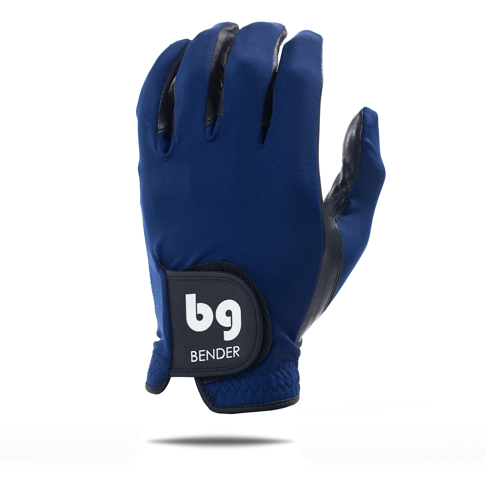 Navy Blue Spandex Golf Glove
