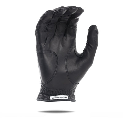 Inside of black Elite Bender Glove. All black design