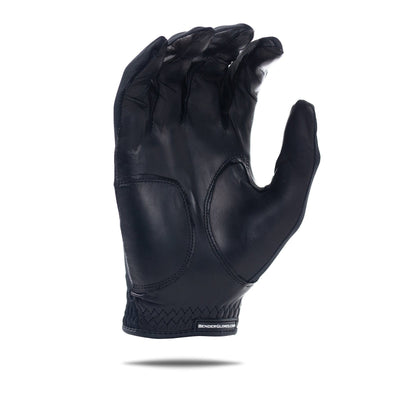 Inside of black Spandex Bender Glove. All black design