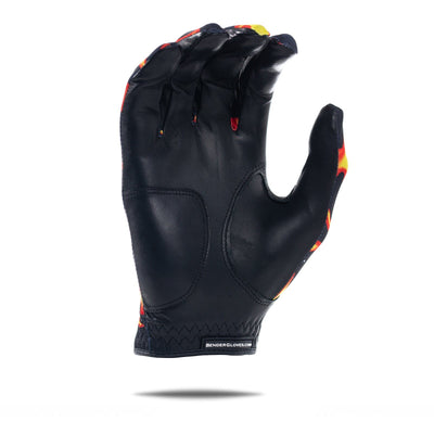 Unique Flames Spandex Golf Glove