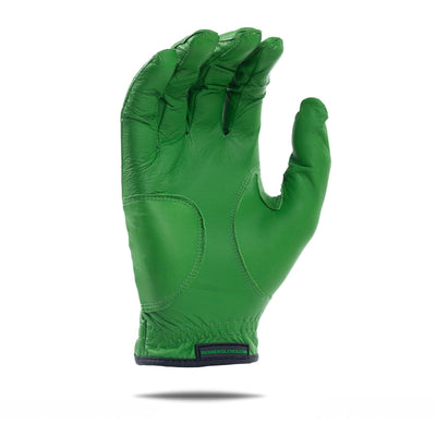 Inside of green Elite Bender Glove. All green design