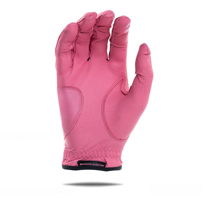 Inside of pink Elite Bender Glove. All pink design