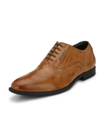 KOUSTOM TAN FORMAL SHOES