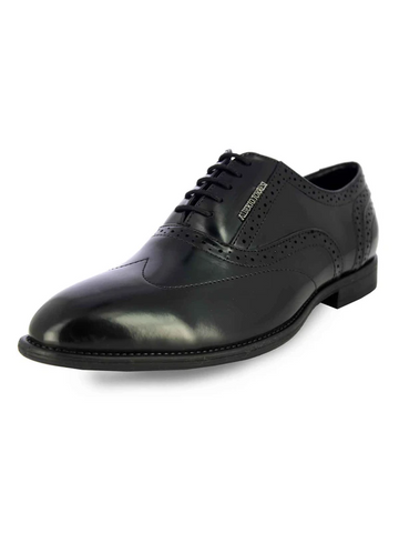 KOUSTOM BLACK FORMAL SHOES