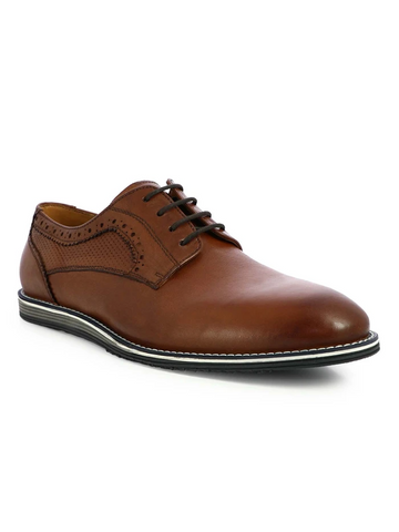 MEN'S BRANDY BROGUES