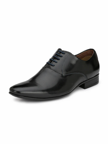 PORTO BLACK FORMAL SHOES