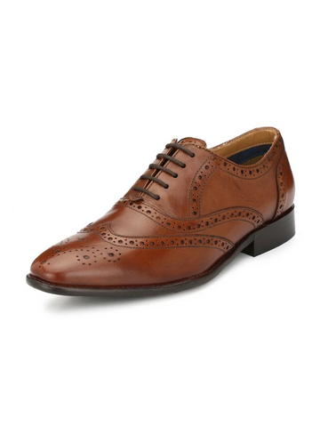 GINOM TAN FORMAL SHOES