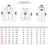 6pcs Set Fashion Suit For Kid Boys Clothes Gentleman Clothes Tops Leisure Clothing Formal Clothing Suit Blazers Outfits Garcon